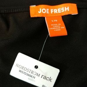 Joe Fresh Dresses - Joe Fresh Dress Large Black Sleeveless Wrap